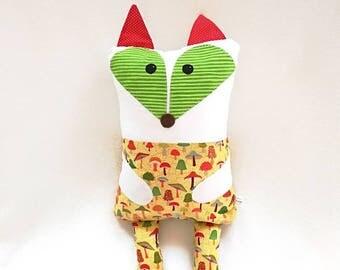 Fox Cuddle Buddy - Baby pillow / cushion - Toddler pillow / cushion - cute animal