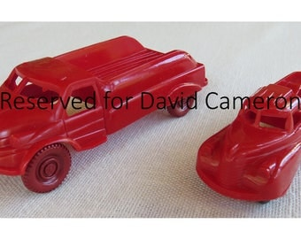 Reserved for David Cameron Reduced! Acme Plastic Toy Trucks