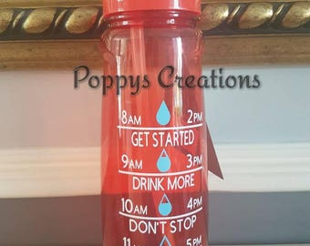 Health and fitness-water tracker bottle-slimming-health-water bottle - slimming world - gym workout