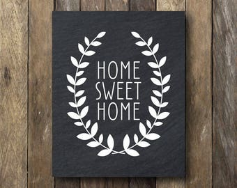 Home Sweet Home Printable - Instant Download - Home Sweet Home Print - Printable Home Sweet Home - Home Sweet Home Sign - Printable Wall Art