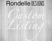 Custom listing - Bulk Eye Pillow order for Amanda