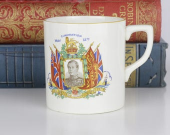 King Edward 1937 Coronation mug by Norville