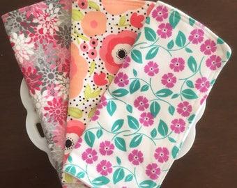 Flannel Washcloths