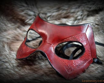 Daredevil molded leather mask