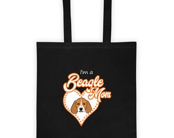 BeagleMom Tote bag (orange)
