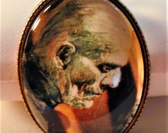 Goth 1932 Boris Karloff as The Mummy Necklace