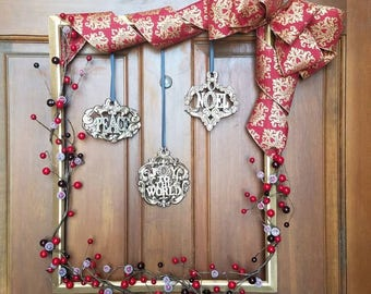 Frame Wreath Christmas