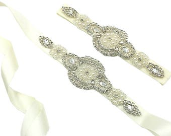 HandMade Bridal Bridesmaid Flower girl Rhinestone AB Pearls Wedding Fascinators Veil Clips