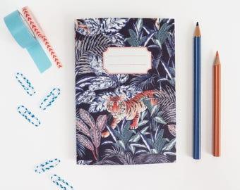 Tiger Jungle Blue Notebook