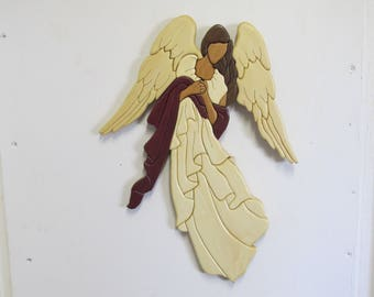 Intarsia Angel
