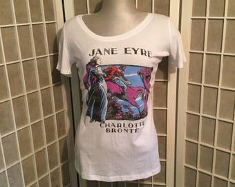 1990s Jane Eyre Soft Cotton T-Shirt XL but more like a Medium