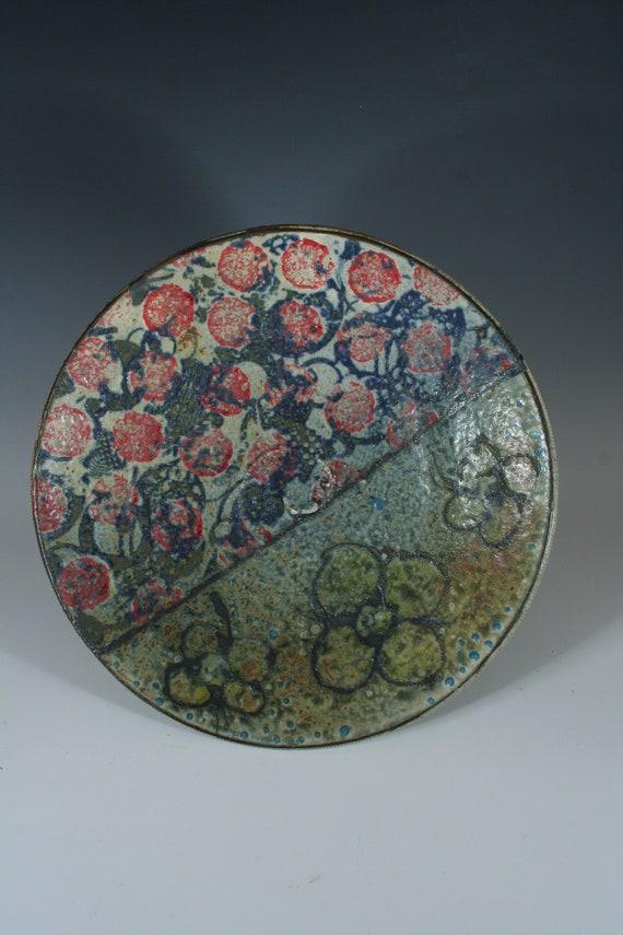 Red Dots Platter