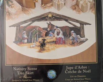 Nativity Tree Skirt Etsy