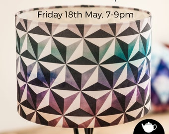 Lampshade Making Workshop at Teapots & Tiny Tots
