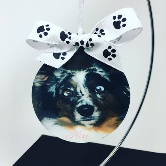 Pet Ornaments, Custom Personalized Pet Ornament, Christmas Ornament, Gift for Pet Owner, Custom Dog Ornament, Pet Ornament