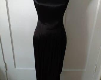Vintage Black Formal Gown