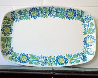 Collectable Sandwich Tray by  Figgjo Flint Tor Viking Turi Daisy Norway
