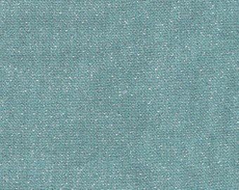 Fabric - Glimmer Solids Mineral Blue - Cloud9 Yarn-dyed Broadcloth W/metallic