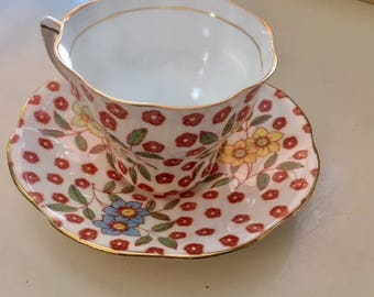 Sweet Rosina Teacup and Saucer