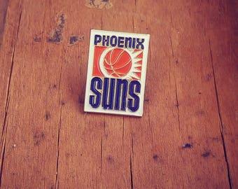 Vintage Phoenix Suns Enamel Pin