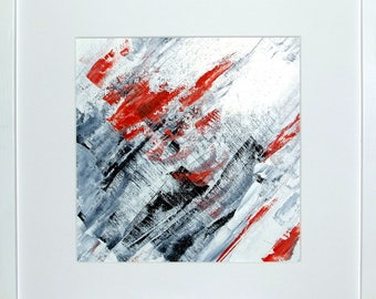 Oil painting, minimal art 176 A original abstract
