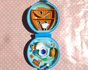 COMPLETE 1992 Polly Pocket Jewelled Sea