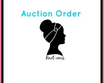 Auction Order - Lauren RB