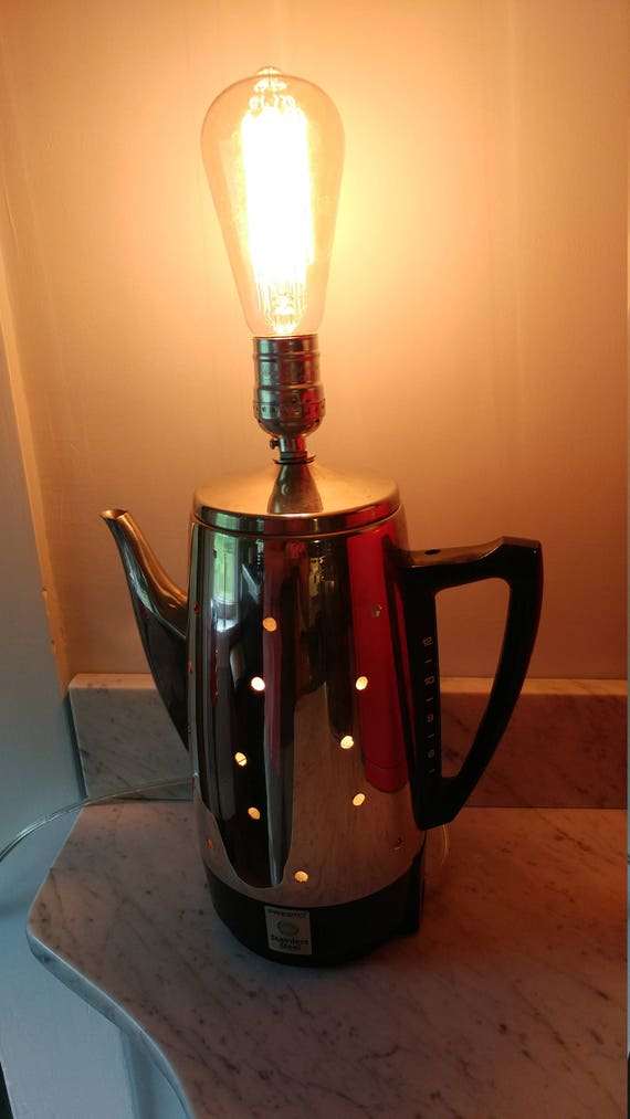 Coffee Carafe Lamp
