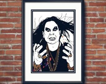 Ozzy Osbourne Original Artwork.