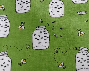 Camp s'more cotton fabric by Quilting treasures