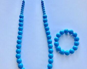 Sale- Blue Pearl Style Set