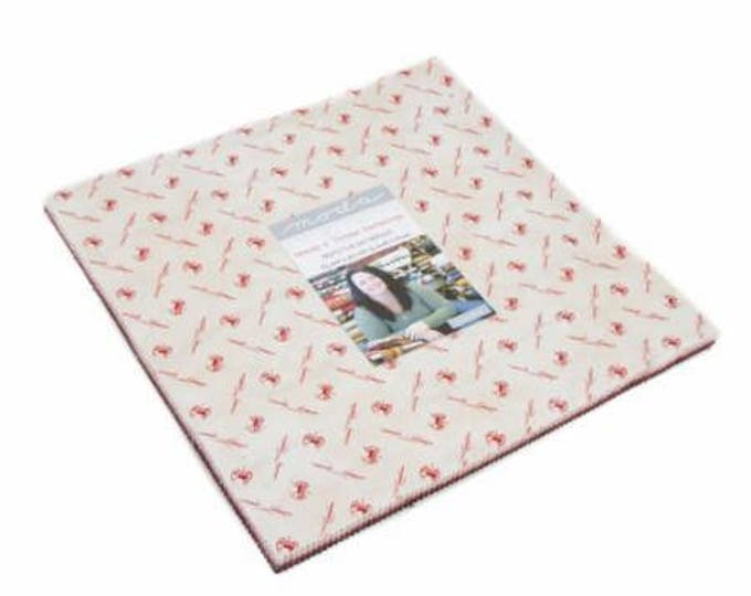 """Needle & Thread Gatherings by Primitive Gatherings for Moda Layer Cake 10"""" Squares"""