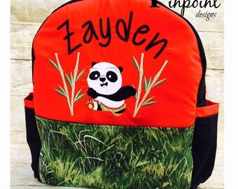 Baby Kung Fu Panda Backpack,    Customized,   100% made from scratch!
