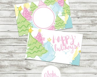 Happy Holidays · Personal Gift Card