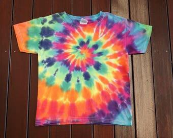 Kid's XS Tie Dye T Shirt