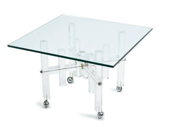 Lucite Occasional Table