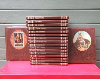 Time Life Old West Complete Set Series 26 Volumes Hardcover Leatherette + Master Index