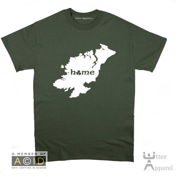 County Monaghan Irish  t shirt, Ireland Counties, funny homeland Irish t shirt Christmas birthday gift  Ireland Sizes S-2XL More colors.
