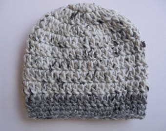 Gray baby hat Baby boy hat Gray beanie Newborn boy hat Newborn beanie Wool baby hat Crochet baby hat Boy hospital hat Newborn boy outfit