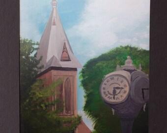 Christ Episcopal and Baxter's Clock