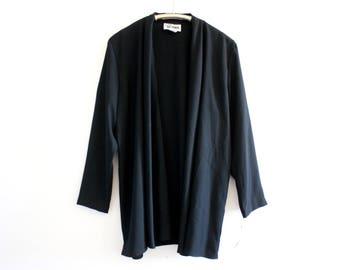 90's Vintage Black Jacket NWT Size 12