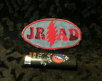 JRAD HAT PATCH ~ Grateful Dead ~ Hand made patch ~ applique patch