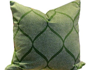 Robert Allen Pillow Cover Madcap Cottage Mocambo Grass