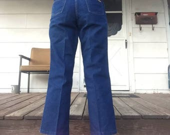 """70s wranglers tagged size """"misses 14"""" 30"""" waist"""