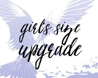 Girl's Size Upgrade - for Tutu Only