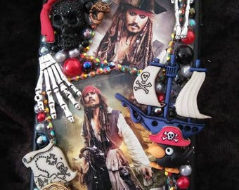 Pirates of the Caribbean Bumper iPhone 6 6s 7 and Plus Only New BUMPER Case Cover make Up Essentials