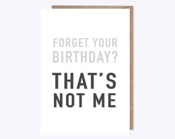 Skepta Birthday Card | That's Not Me! | Funny Birthday Card | Friendship, Music, Grime