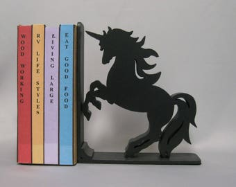 Unicorn Silhouette Bookend - 19.95 Color Choice