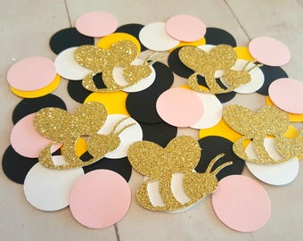 Girl Bumble Bee Baby Shower Decor Birthday Pink Decorations