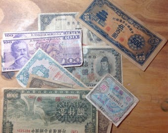 Old foreign money